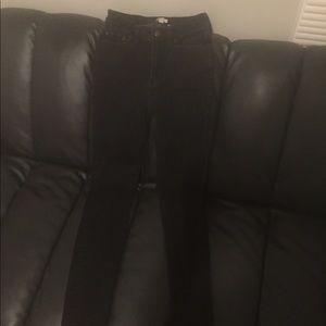 Jcrew black skinny jeans